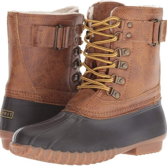 Esprit Tan Wiley Winter & Rain Mid-Calf Duck Boots